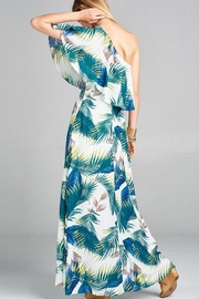 Love Kuza Palm Leaf Maxi - Front full body
