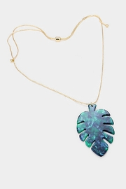 Wild Lilies Jewelry  Palm Pendant Necklace - Front cropped
