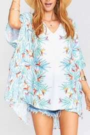 Show Me Your Mumu Palm Peta Tunic - Product Mini Image