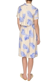 FRNCH Palm Print Dress - Side cropped