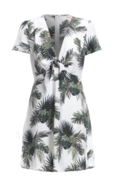 Renamed Clothing Palm Print Dress - Product Mini Image