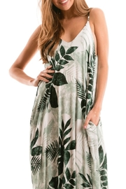 Love Stitch Palm Print Maxi - Product Mini Image