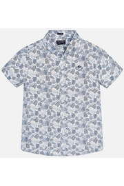 Mayoral PALM PRINT S/S SHIRT - Front cropped