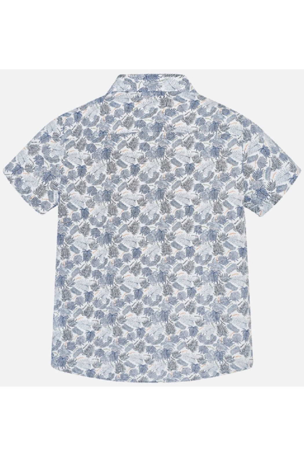 Mayoral PALM PRINT S/S SHIRT - Side Cropped Image