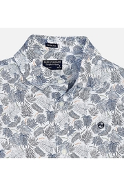 Mayoral PALM PRINT S/S SHIRT - Front full body