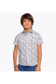 Mayoral PALM PRINT S/S SHIRT - Back cropped