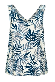 ICHI Palm Print Tank - Front full body