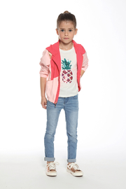 3Pommes Palm Spring Tee Shirt - Back cropped
