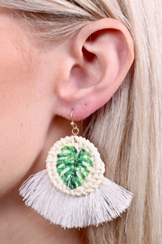 Caroline Hill Palm Springs Earrings - Front cropped