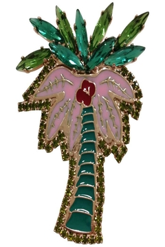 Shoptiques Product: Palm Swarovski Brooch