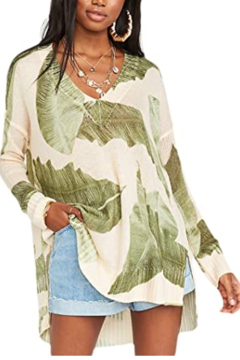Show Me Your Mumu Palm sweater - Product List Image