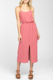 ALB Anchorage Palm-Tree Breeze Midi-Dress. - Front cropped