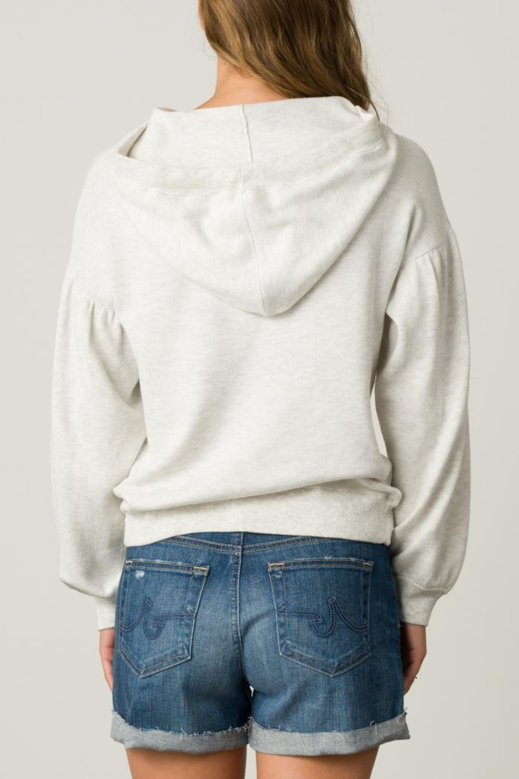 Margaret O'Leary Palm Tree Hoodie - Side Cropped Image