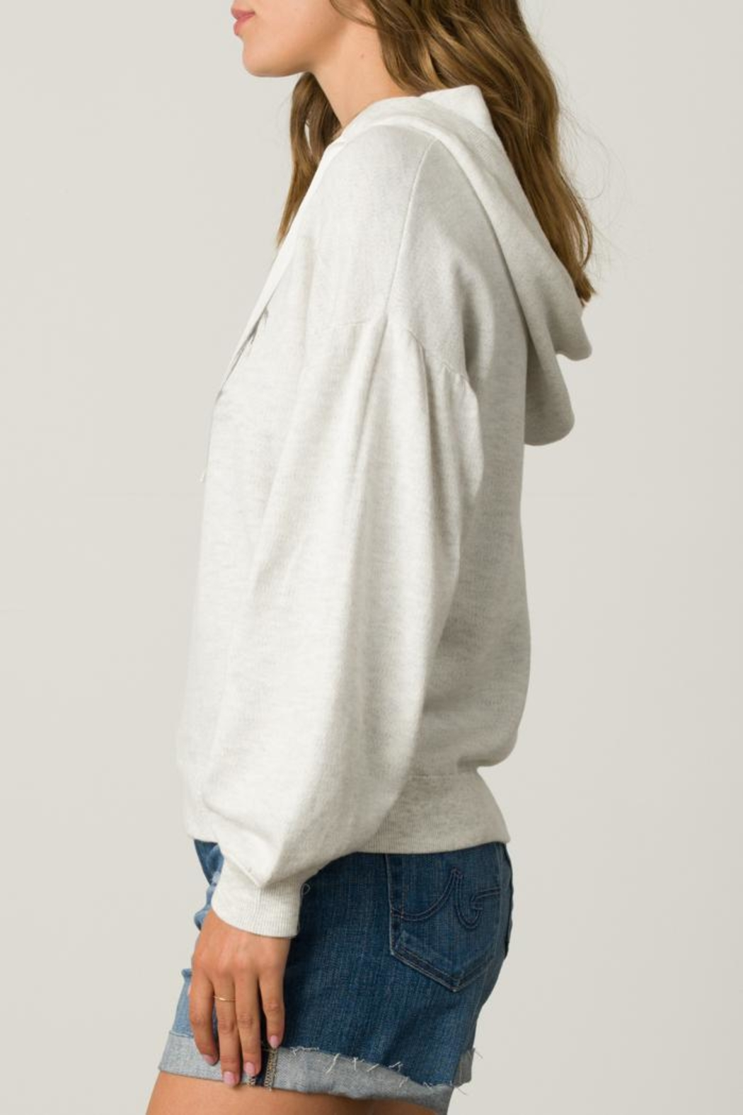 Margaret O'Leary Palm Tree Hoodie - Front Full Image
