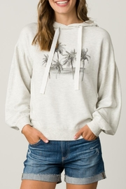 Margaret O'Leary Palm Tree Hoodie - Product Mini Image