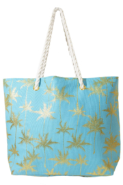 Area Stars Palm Tree Tote - Front cropped