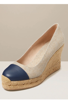 Jack Rogers Palmer cap closed toe wedge - Product List Image