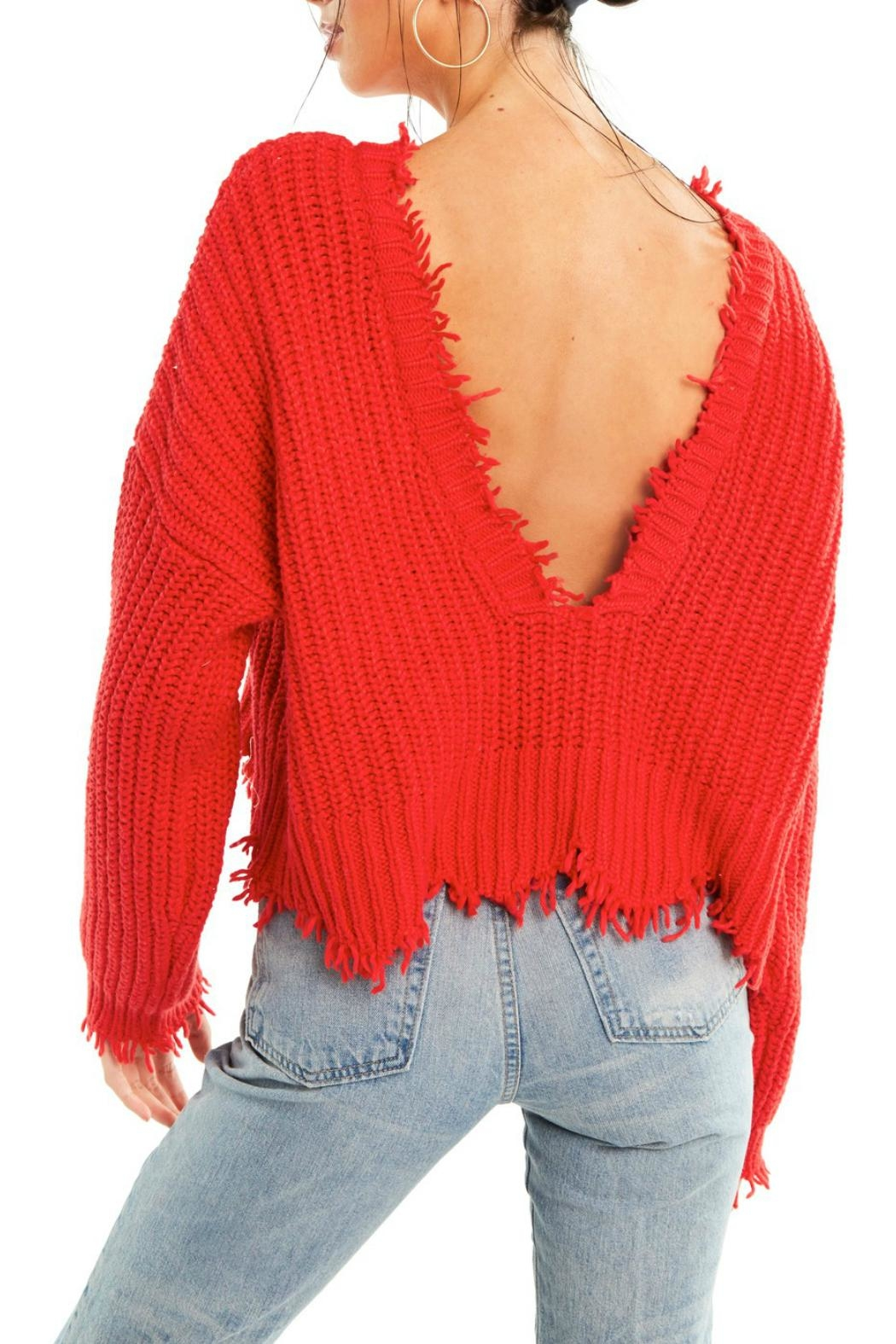 Wildfox Palmetto Sweater - Back Cropped Image