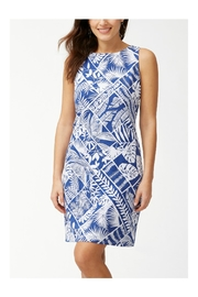 Tommy Bahama Palmfrond Sheath Dress - Front cropped