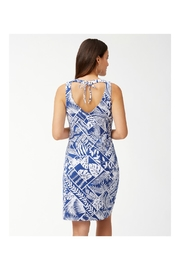 Tommy Bahama Palmfrond Sheath Dress - Front full body