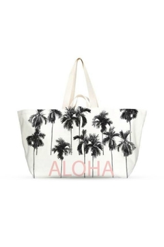 Shoptiques Product: Palms Aloha Large Beach Tote