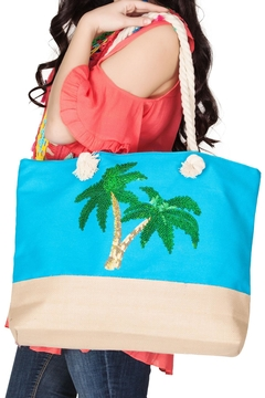 India Boutique Palms Beach Tote - Alternate List Image