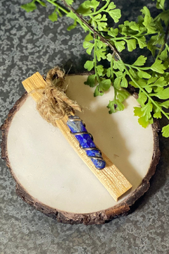 The Birch Tree Palo Santo & Blue Lapis Pendant - Product List Image