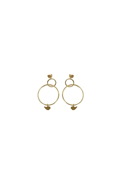Shoptiques Product: Paloma 3gold Earrings