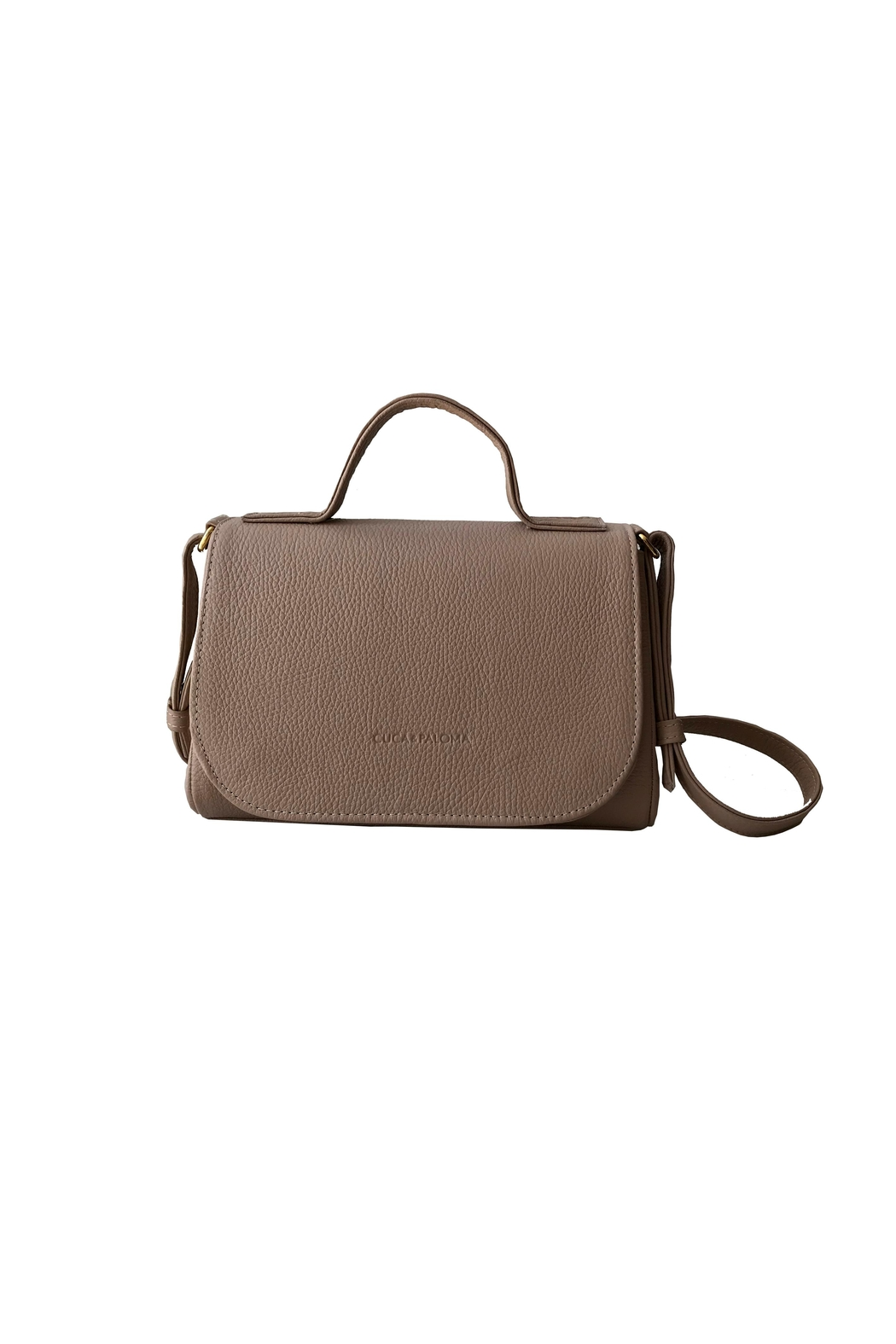 Cuca y Paloma Paloma Bag Nude - Front Cropped Image