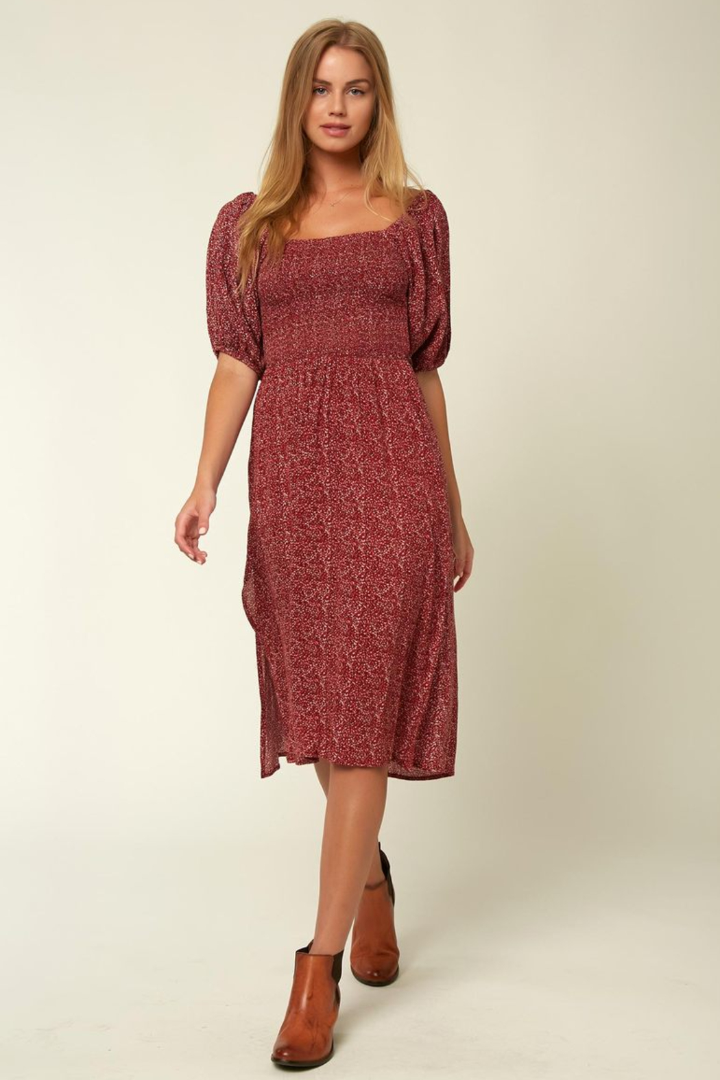 O'Neill Paloma Midi Dress - Main Image