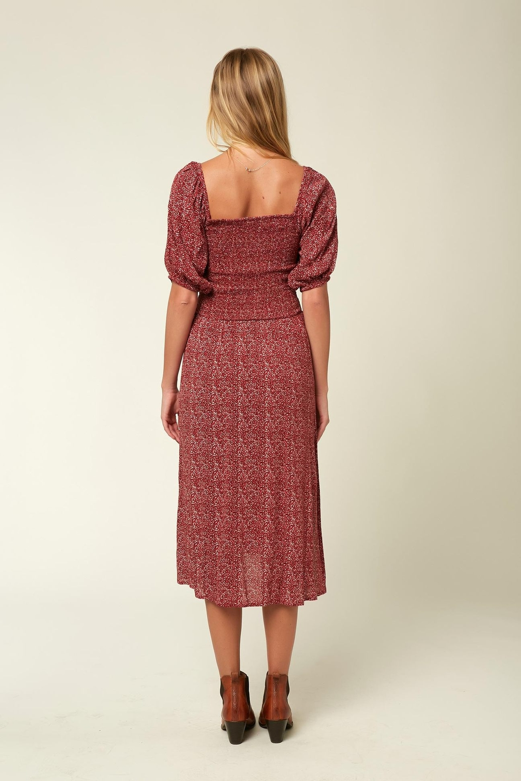O'Neill Paloma Midi Dress - Side Cropped Image