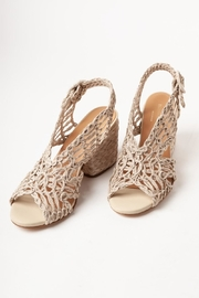 PALOMA BARCELO Millicent Cord Rafia Taupe - Front cropped
