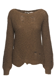 Pam & Gela Army Wavy Sweater - Product List Image