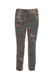 Pam & Gela Camo Cargo Zipper Pants - Product Mini Image