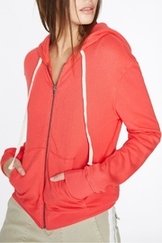 Pam & Gela Crossover Back Hoodie - Front full body