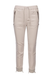 Pam & Gela Cuff Destructed Jogger Pants - Front cropped