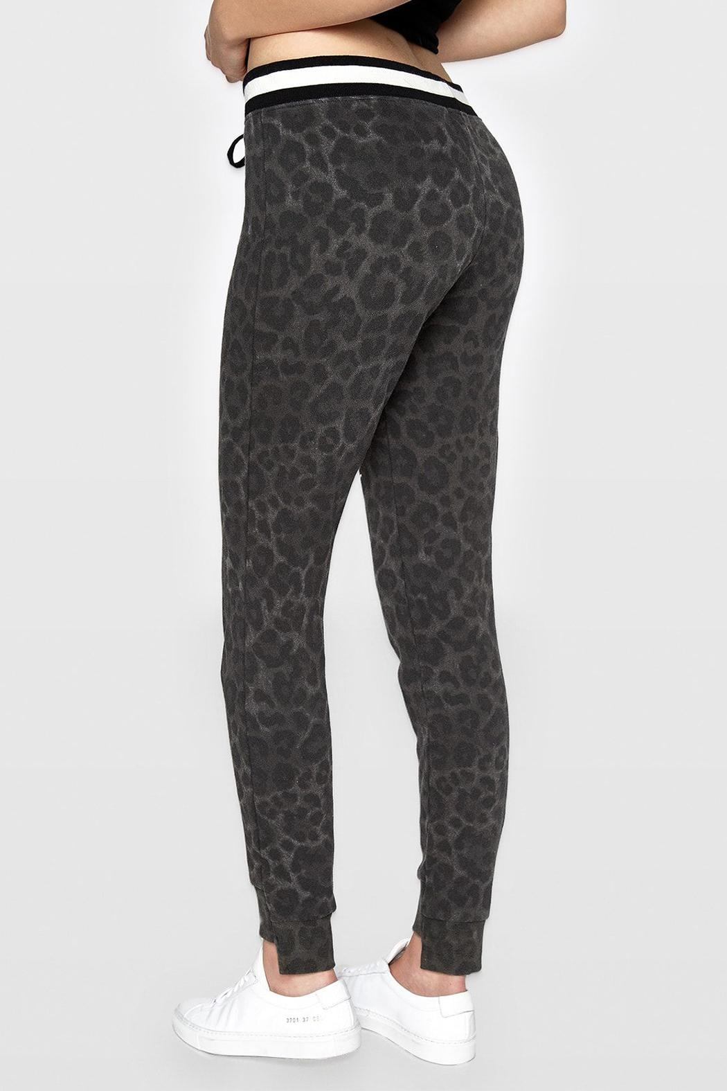 Pam & Gela Leopard Off-Set Cuff - Front Full Image