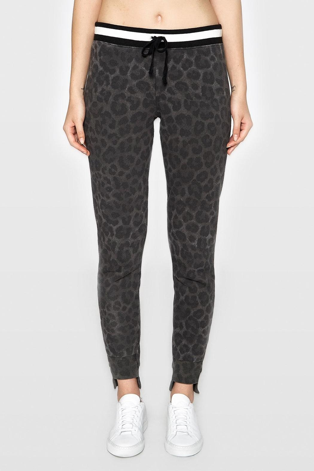 Pam & Gela Leopard Off-Set Cuff - Front Cropped Image
