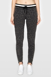 Pam & Gela Leopard Off-Set Cuff - Front cropped