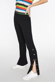 Pam & Gela Snap Wideleg Pant - Product Mini Image