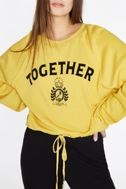 Pam & Gela Together Sweatshirt - Front full body