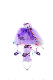 Pamela & Co. Birthday Tutu Set - Product Mini Image