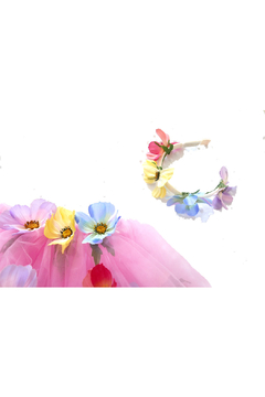 Pamela & Co. Multi-Colored Flower Tutu Set - Alternate List Image