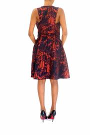 Pamella Roland Jacquard Party Dress - Front full body