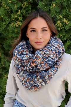 Panache Colorful Infinity Scarf - Product List Image