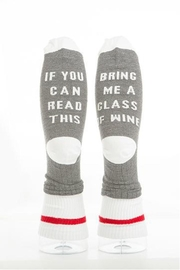 Panache If-You-Can-Read-This-Bring-Me-Wine Socks - Product Mini Image