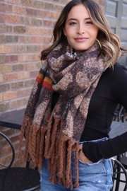 Panache Long Fringe Scarf - Product Mini Image