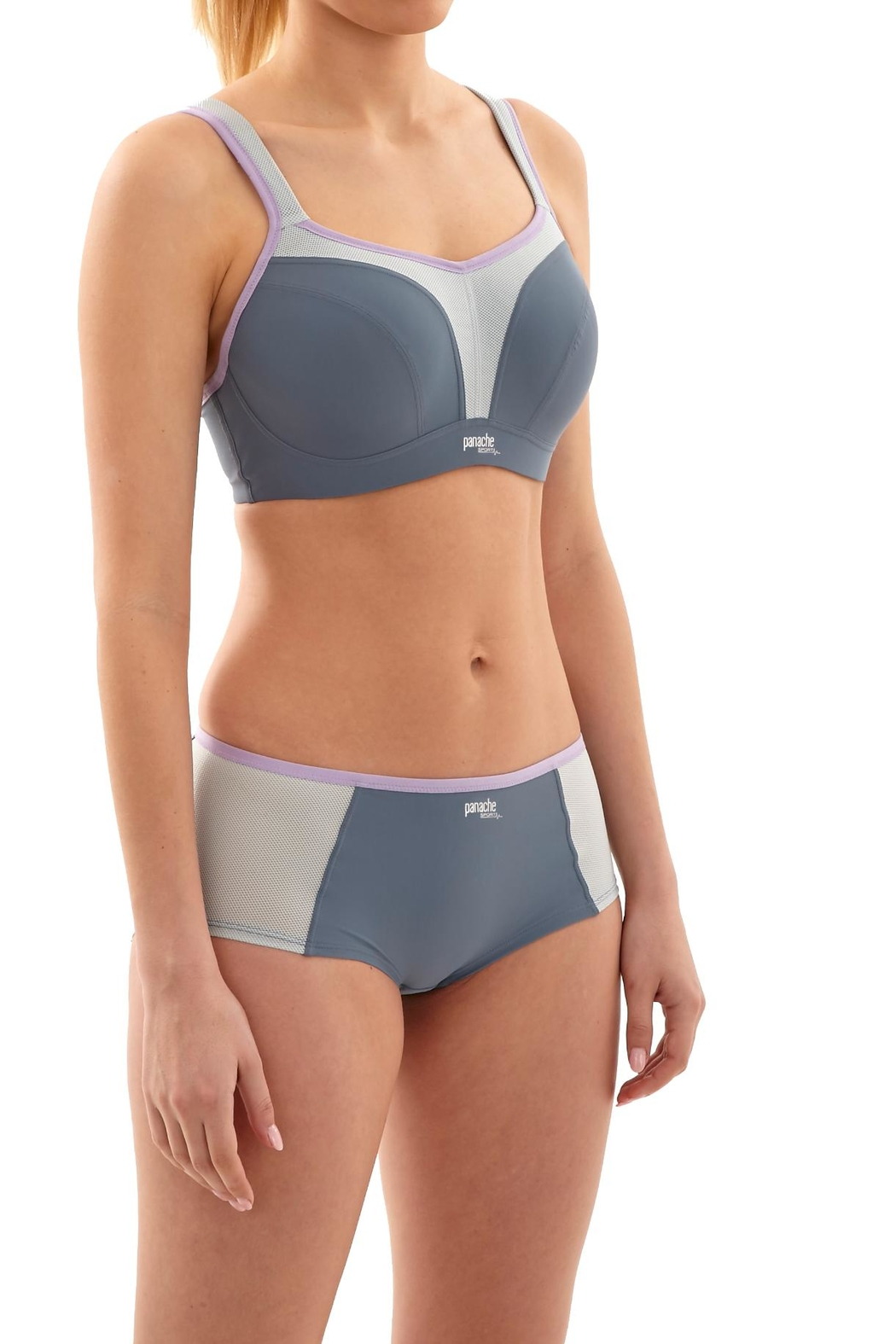 Panache Wire Sport Bra - Front Cropped Image