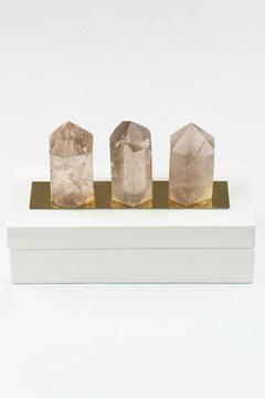 Panache of Amarillo White Quartz Box - Product List Image
