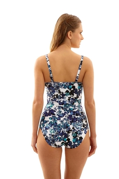 Panache Swimwear Floral Bandeau - Alternate List Image